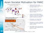 asian societal motivation for parc