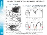forecast skill bifurcation