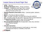 learjet sense avoid flight test1