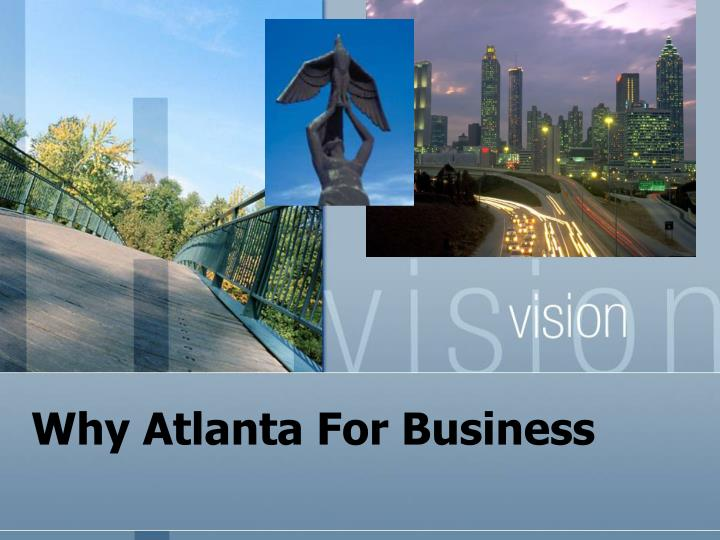 why atlanta for business n.