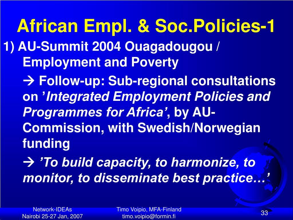 African Empl. & Soc.Policies-1