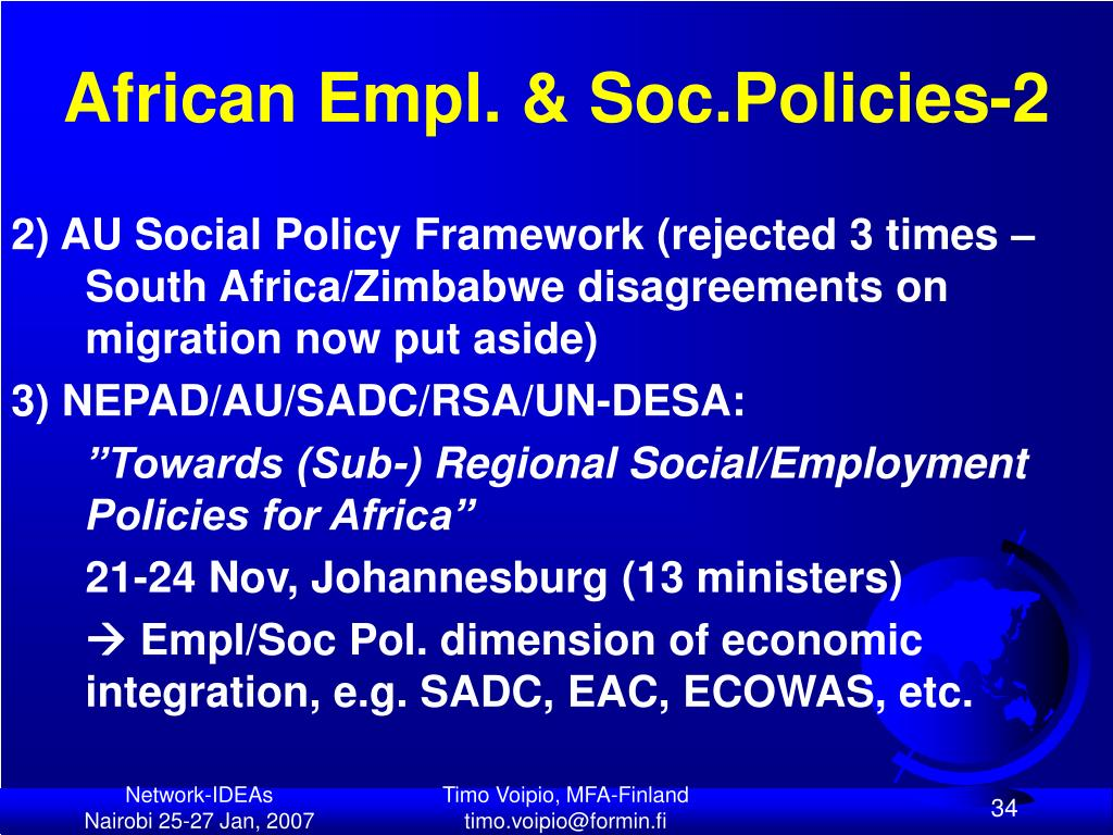 African Empl. & Soc.Policies-2