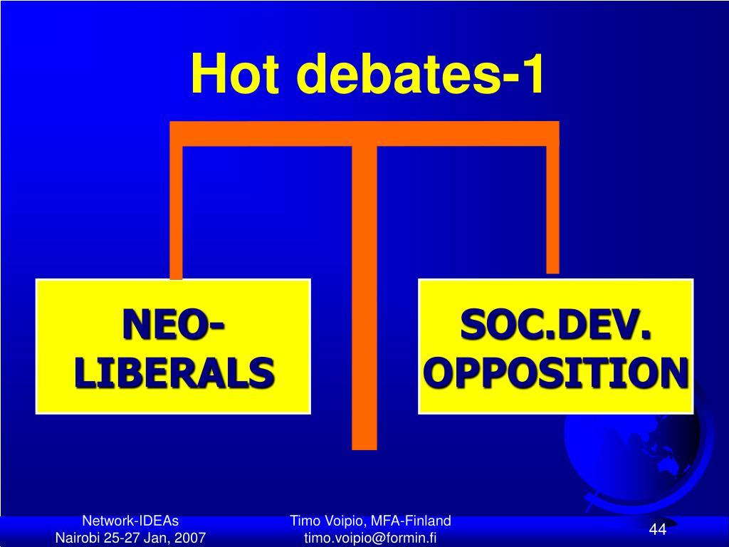Hot debates-1