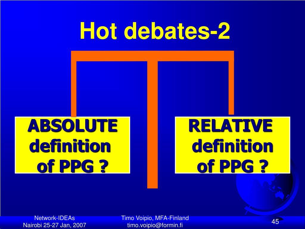 Hot debates-2