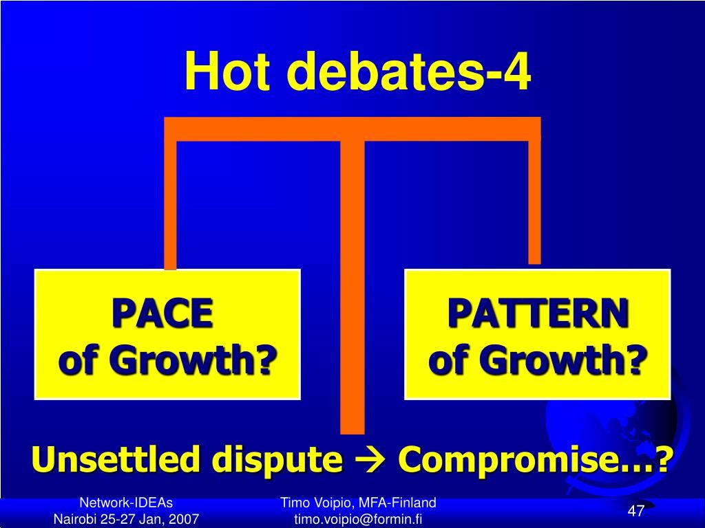 Hot debates-4
