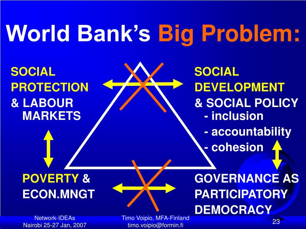 World Bank's