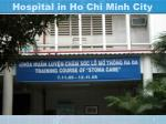 hospital in ho chi minh city