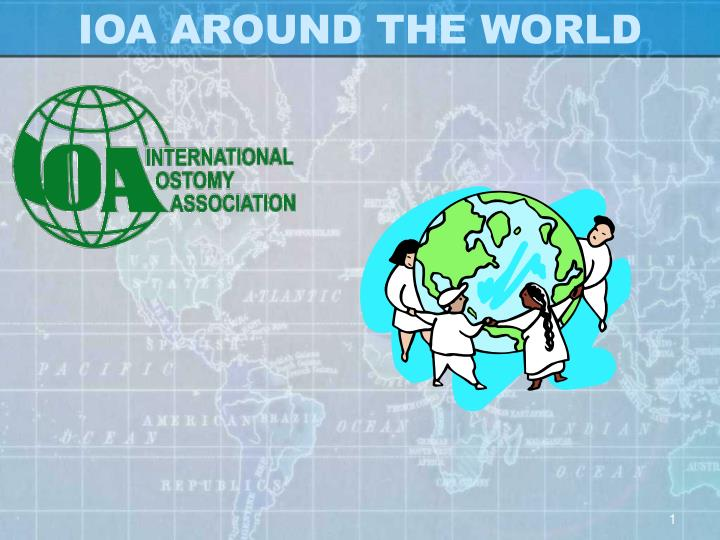 ioa around the world n.