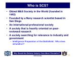 who is scs