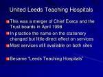 united leeds teaching hospitals1