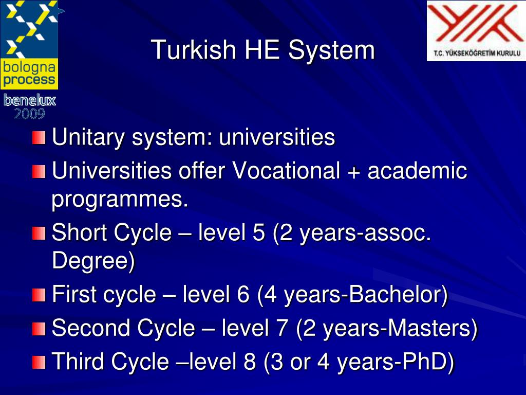 Turkish HE System