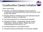 construction careers initiative