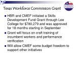 texas workforce commission grant