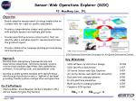 sensor web operations explorer sox