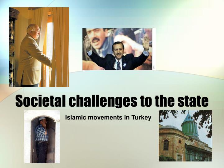 societal challenges to the state n.