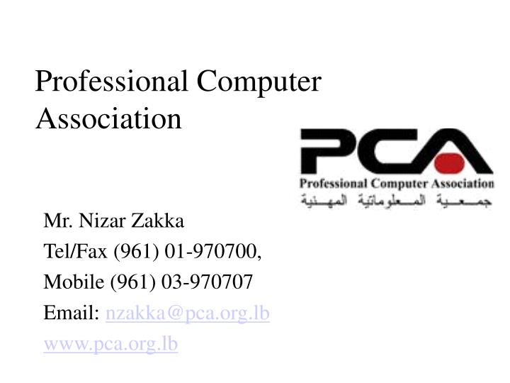 professional computer association n.