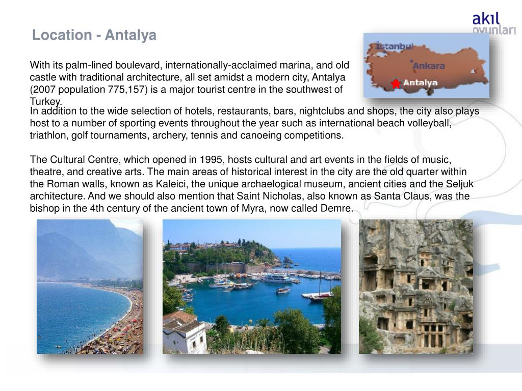 Location - Antalya