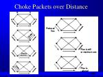 choke packets over distance