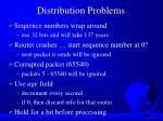 distribution problems
