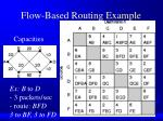 flow based routing example