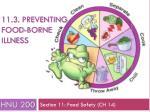 11 3 preventing food borne illness