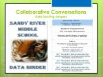 collaborative conversations data tracking samples