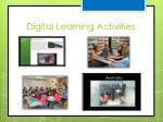 digital learning activities