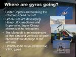 where are gyros going