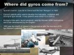 where did gyros come from