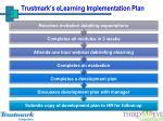 trustmark s elearning implementation plan1