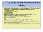 ii trois formes de renouvellement urbain