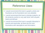 reference uses1