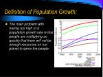 definition of population growth2