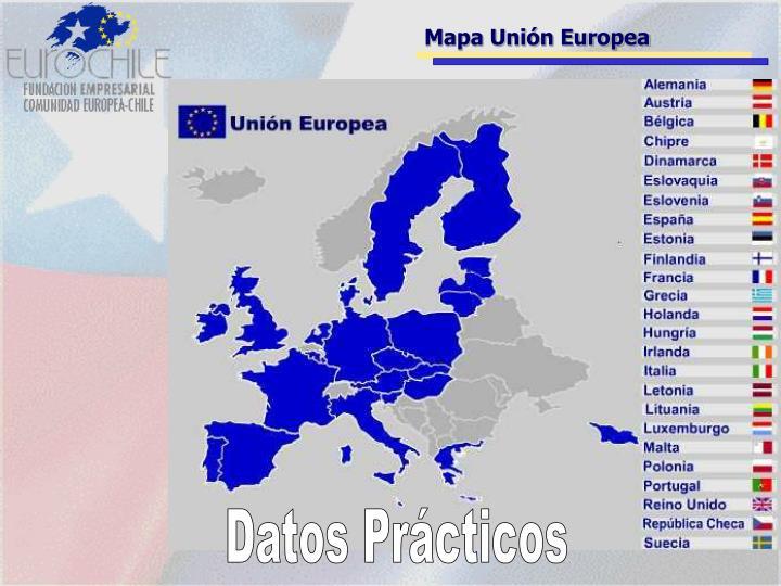 Mapa Unión Europea