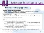 sentiment features f3 cont d4