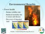 environmental benefits1