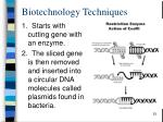 biotechnology techniques4