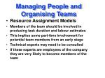 managing people and organising teams1