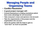 managing people and organising teams25