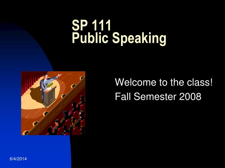 welcome to the class fall semester 2008 n.
