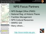 nps focus partners