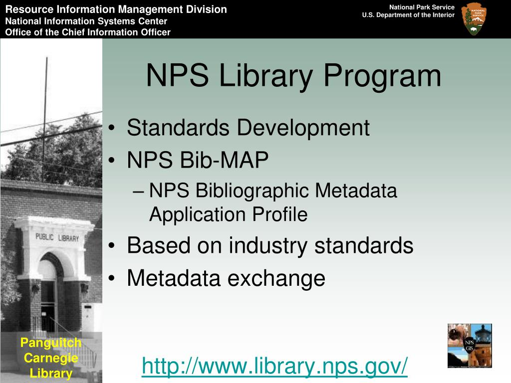 NPS Library Program