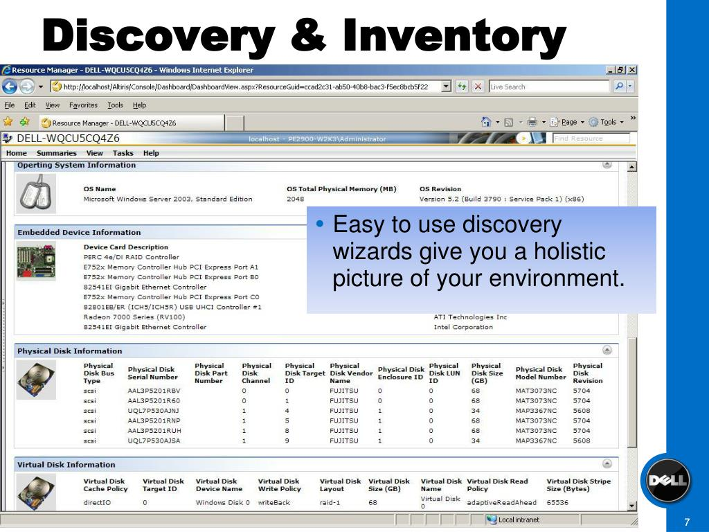 Discovery & Inventory