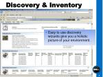discovery inventory