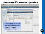 hardware firmware updates