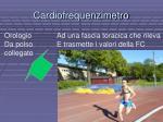 cardiofrequenzimetro