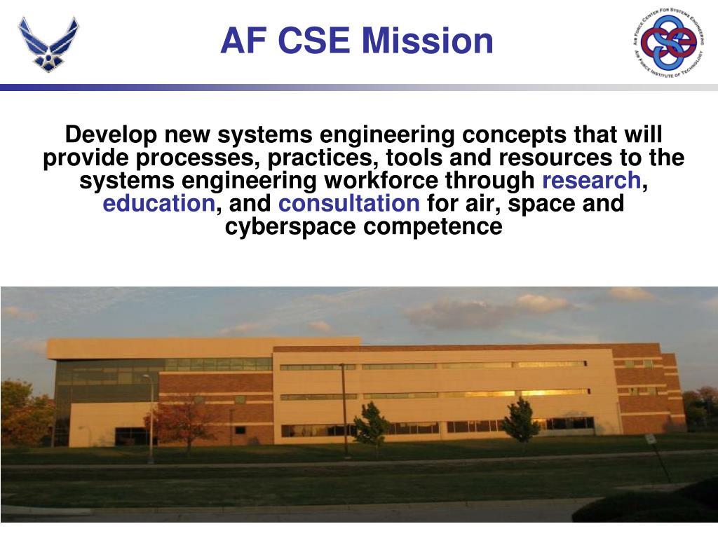 AF CSE Mission