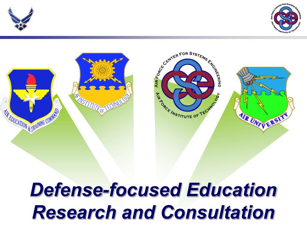 Defense-focused Education