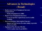 advances in technologies trend