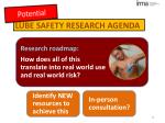 lube safety research agenda2